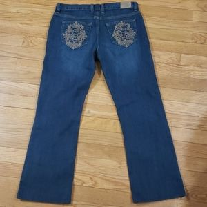 "Disney jeans with Mickey pockets ""short"""